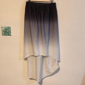 Dresses & Skirts - Ombré black to white skirt